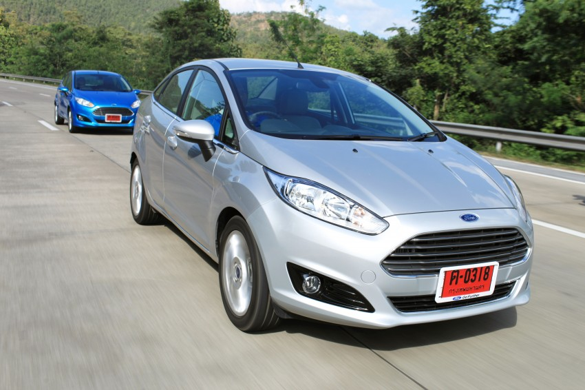 DRIVEN: 2014 Ford Fiesta 1.0 EcoBoost in Chiang Mai Image #216580