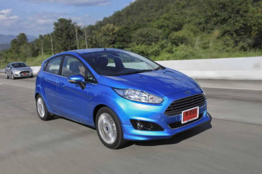 DRIVEN: 2014 Ford Fiesta 1.0 EcoBoost in Chiang Mai Image #216578