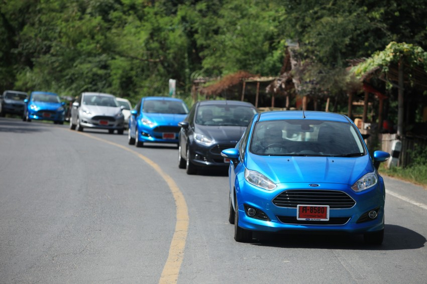 DRIVEN: 2014 Ford Fiesta 1.0 EcoBoost in Chiang Mai Image #216574