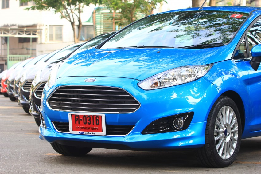 DRIVEN: 2014 Ford Fiesta 1.0 EcoBoost in Chiang Mai Image #216742