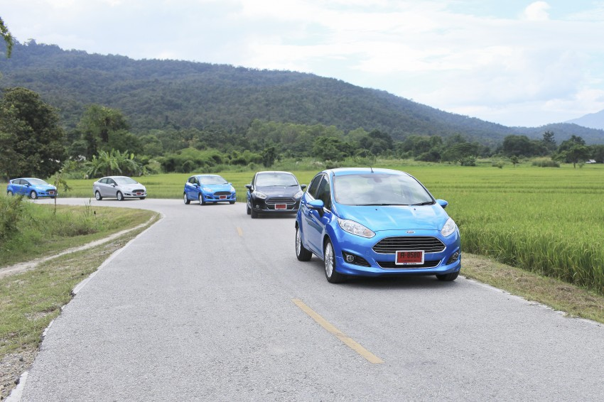 DRIVEN: 2014 Ford Fiesta 1.0 EcoBoost in Chiang Mai Image #216568