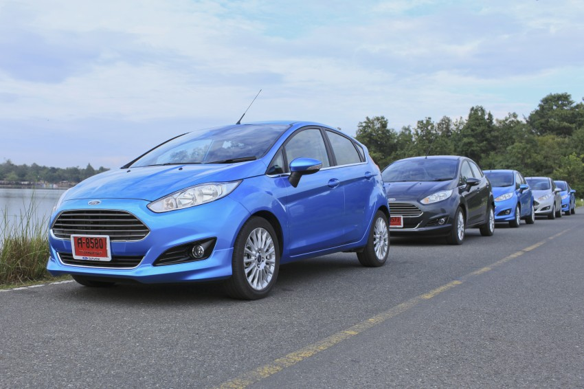 DRIVEN: 2014 Ford Fiesta 1.0 EcoBoost in Chiang Mai Image #216566