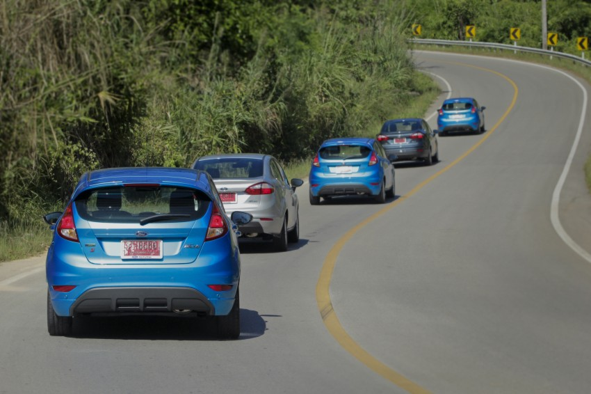 DRIVEN: 2014 Ford Fiesta 1.0 EcoBoost in Chiang Mai Image #216565