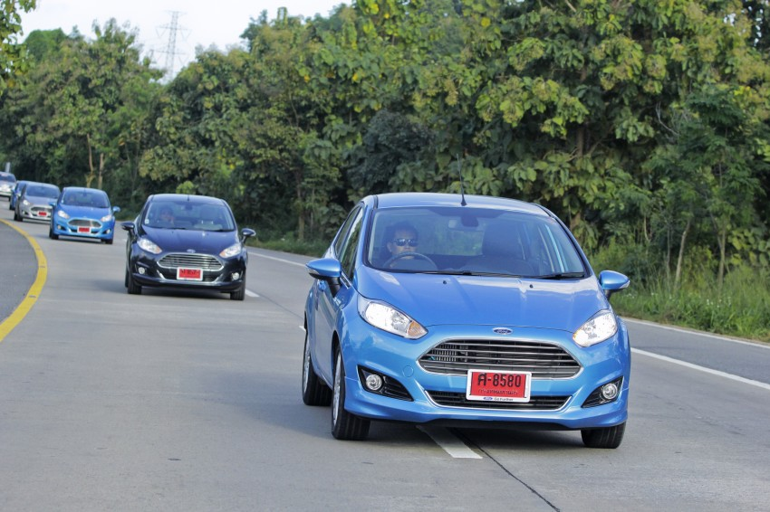 DRIVEN: 2014 Ford Fiesta 1.0 EcoBoost in Chiang Mai Image #216563