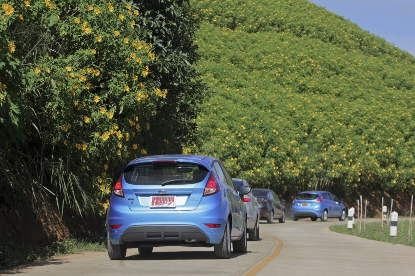DRIVEN: 2014 Ford Fiesta 1.0 EcoBoost in Chiang Mai Image #216561