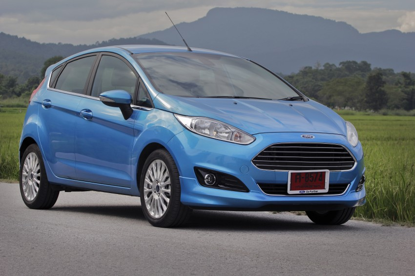 DRIVEN: 2014 Ford Fiesta 1.0 EcoBoost in Chiang Mai Image #216559