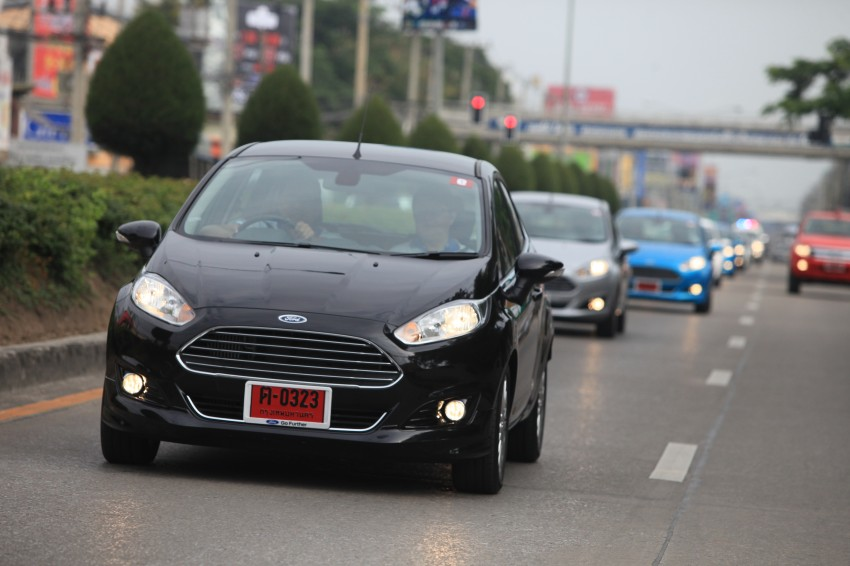 DRIVEN: 2014 Ford Fiesta 1.0 EcoBoost in Chiang Mai Image #216741