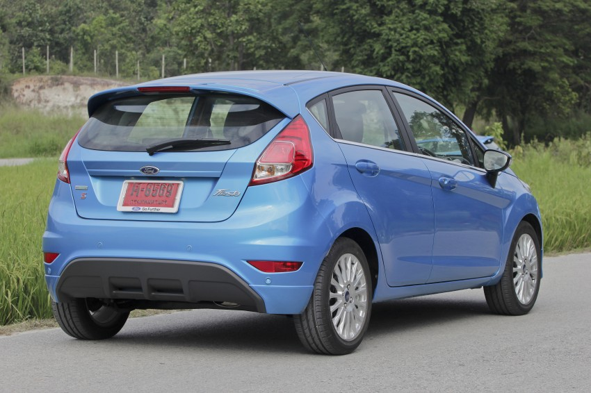 DRIVEN: 2014 Ford Fiesta 1.0 EcoBoost in Chiang Mai Image #216558