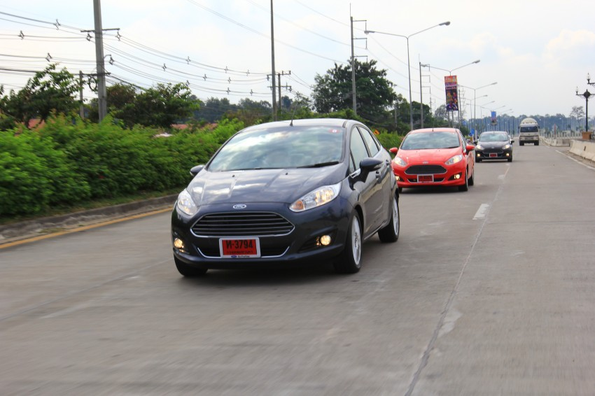 DRIVEN: 2014 Ford Fiesta 1.0 EcoBoost in Chiang Mai Image #216734