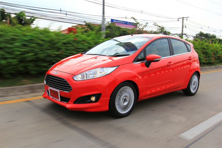 DRIVEN: 2014 Ford Fiesta 1.0 EcoBoost in Chiang Mai Image #216733