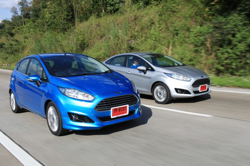 DRIVEN: 2014 Ford Fiesta 1.0 EcoBoost in Chiang Mai Image #216540