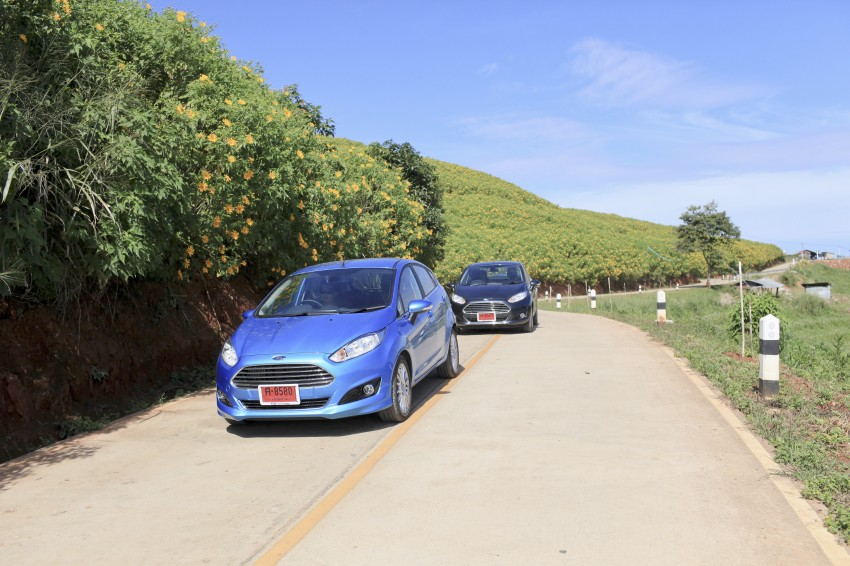 DRIVEN: 2014 Ford Fiesta 1.0 EcoBoost in Chiang Mai Image #216539