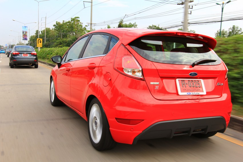 DRIVEN: 2014 Ford Fiesta 1.0 EcoBoost in Chiang Mai Image #216732