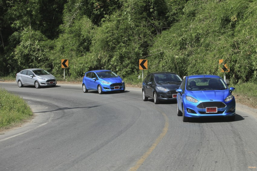 DRIVEN: 2014 Ford Fiesta 1.0 EcoBoost in Chiang Mai Image #216532