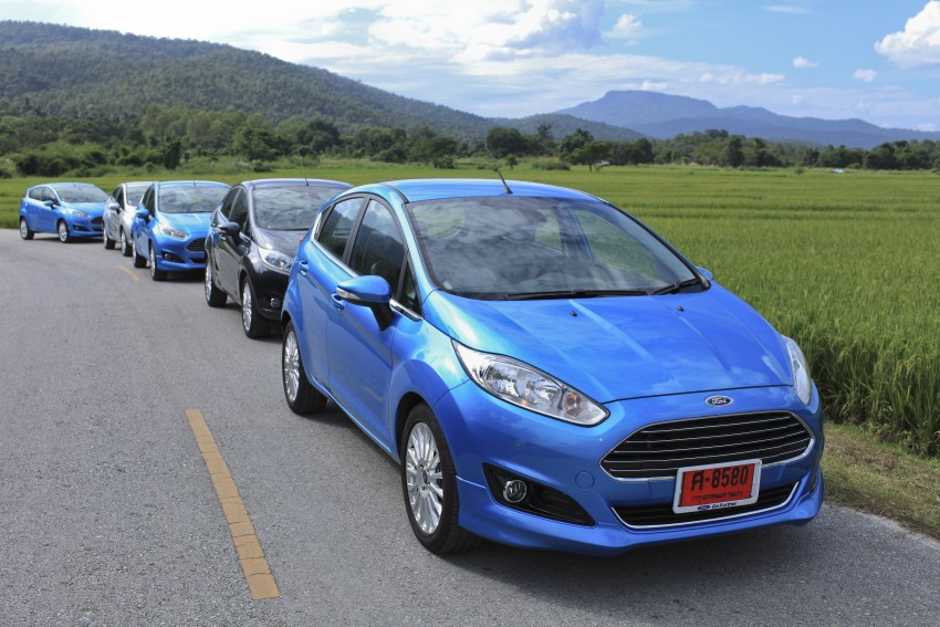 DRIVEN: 2014 Ford Fiesta 1.0 EcoBoost in Chiang Mai Image #216531