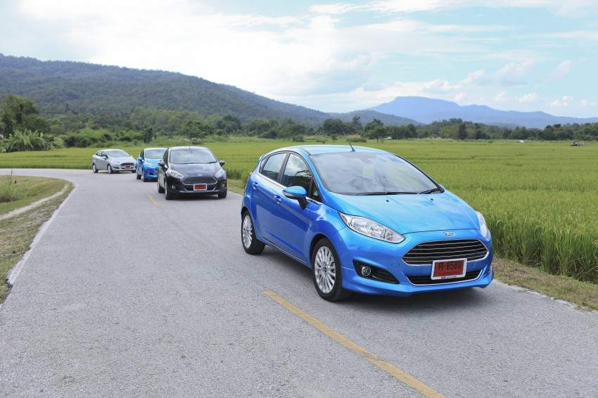 DRIVEN: 2014 Ford Fiesta 1.0 EcoBoost in Chiang Mai Image #216530