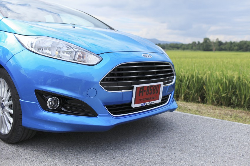 DRIVEN: 2014 Ford Fiesta 1.0 EcoBoost in Chiang Mai Image #216528