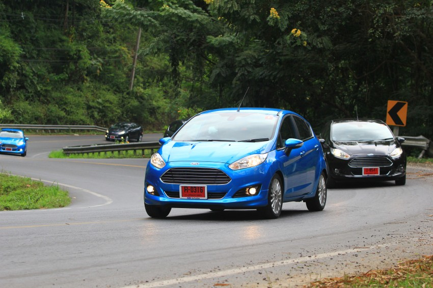 DRIVEN: 2014 Ford Fiesta 1.0 EcoBoost in Chiang Mai Image #216729