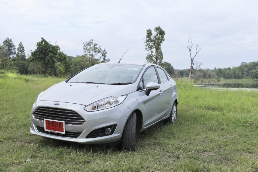 DRIVEN: 2014 Ford Fiesta 1.0 EcoBoost in Chiang Mai Image #216525