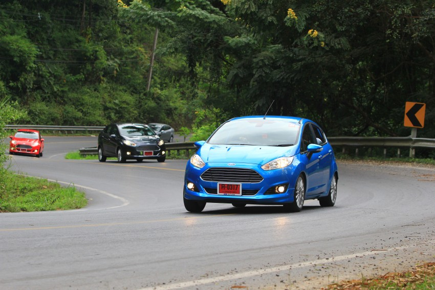 DRIVEN: 2014 Ford Fiesta 1.0 EcoBoost in Chiang Mai Image #216728