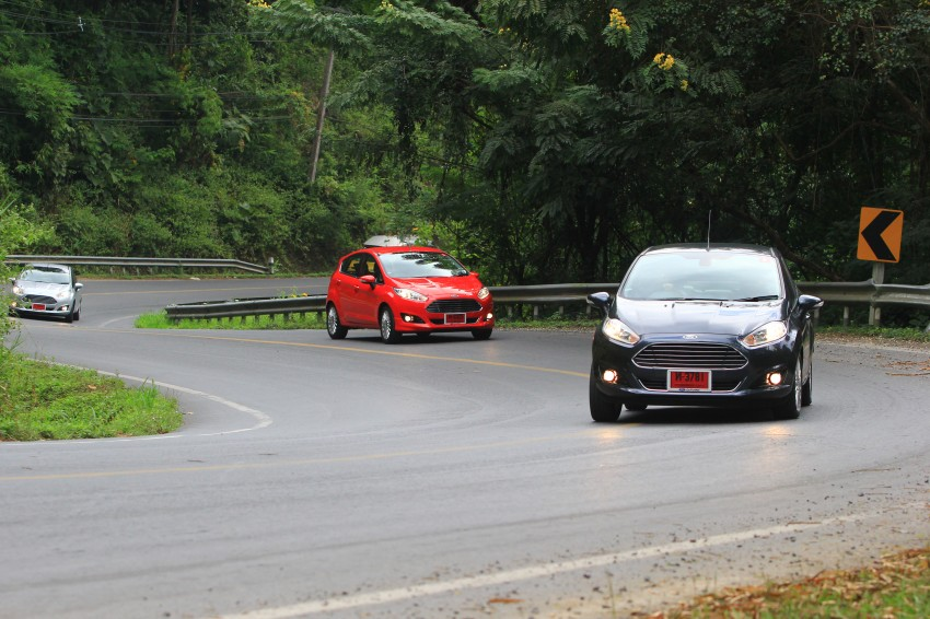 DRIVEN: 2014 Ford Fiesta 1.0 EcoBoost in Chiang Mai Image #216727