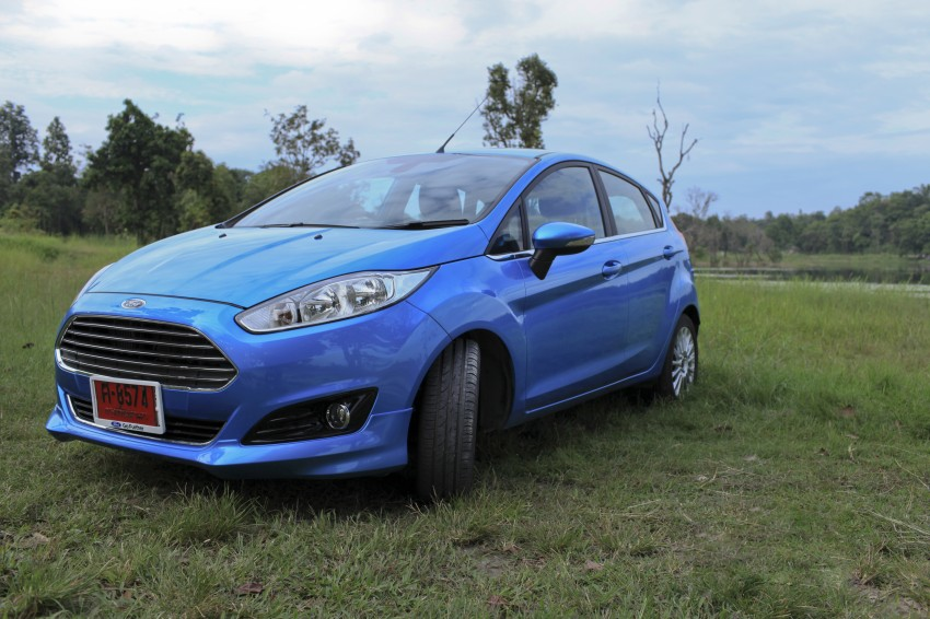 DRIVEN: 2014 Ford Fiesta 1.0 EcoBoost in Chiang Mai Image #216523