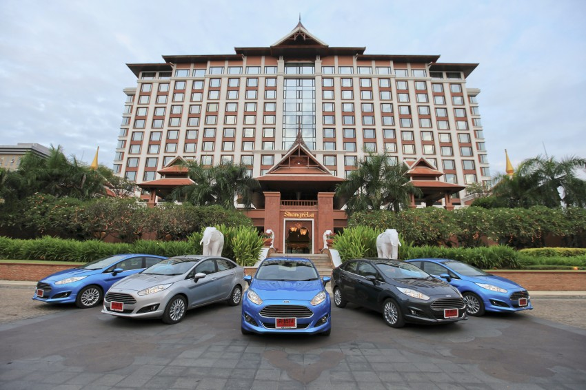 DRIVEN: 2014 Ford Fiesta 1.0 EcoBoost in Chiang Mai Image #216522
