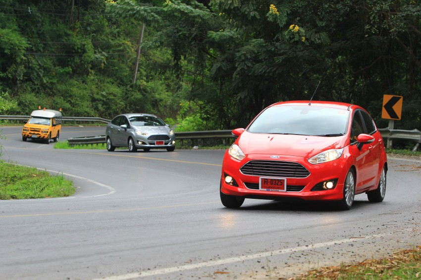 DRIVEN: 2014 Ford Fiesta 1.0 EcoBoost in Chiang Mai Image #216725