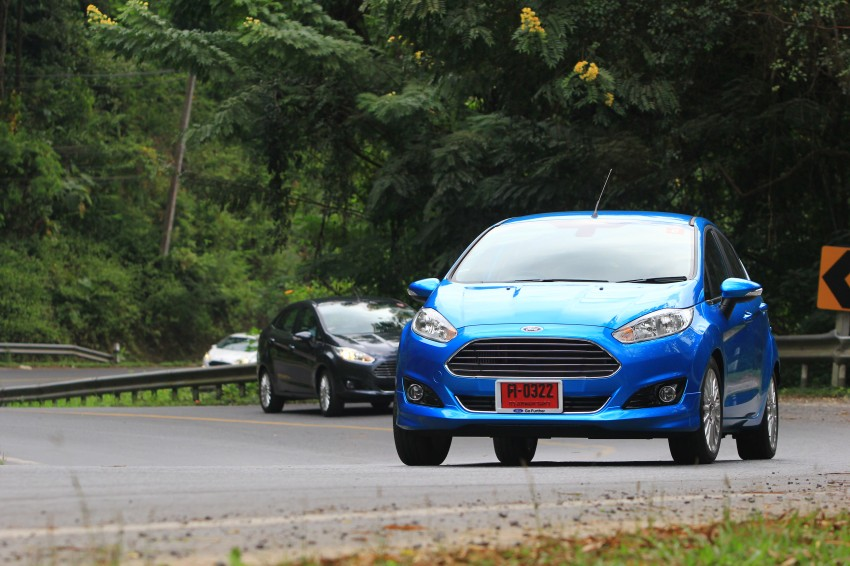 DRIVEN: 2014 Ford Fiesta 1.0 EcoBoost in Chiang Mai Image #216724