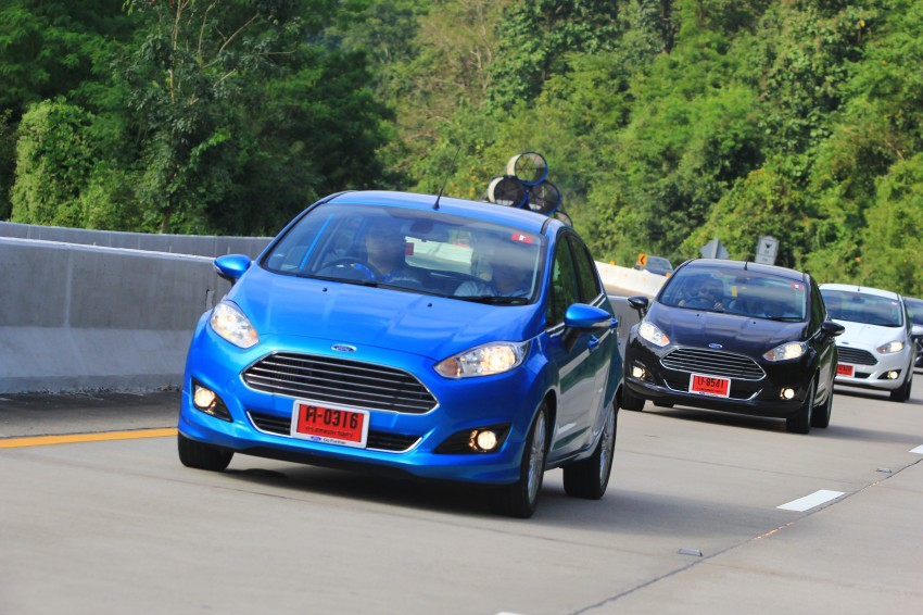 DRIVEN: 2014 Ford Fiesta 1.0 EcoBoost in Chiang Mai Image #216722