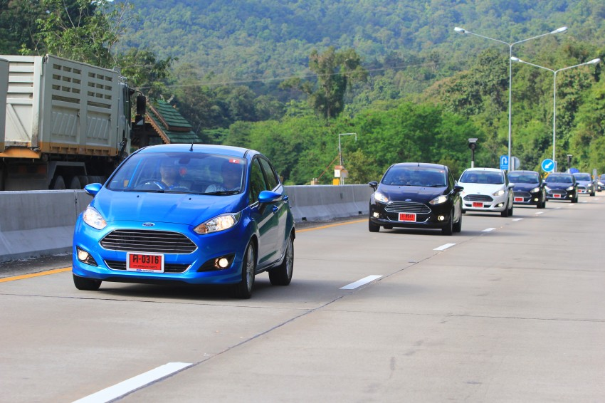 DRIVEN: 2014 Ford Fiesta 1.0 EcoBoost in Chiang Mai Image #216721