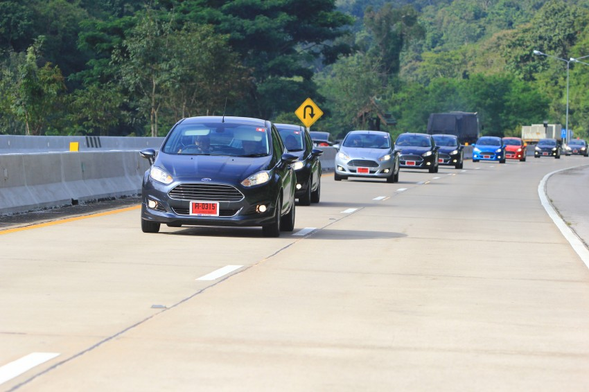 DRIVEN: 2014 Ford Fiesta 1.0 EcoBoost in Chiang Mai Image #216720