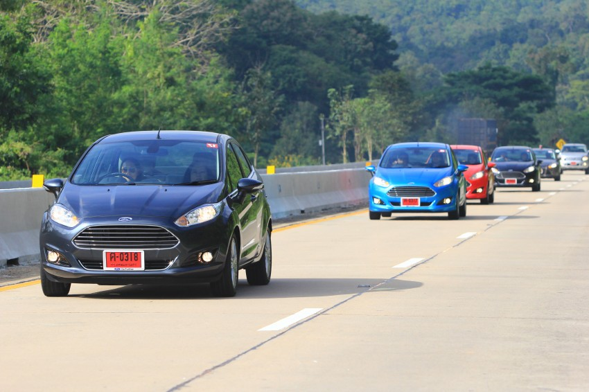 DRIVEN: 2014 Ford Fiesta 1.0 EcoBoost in Chiang Mai Image #216718