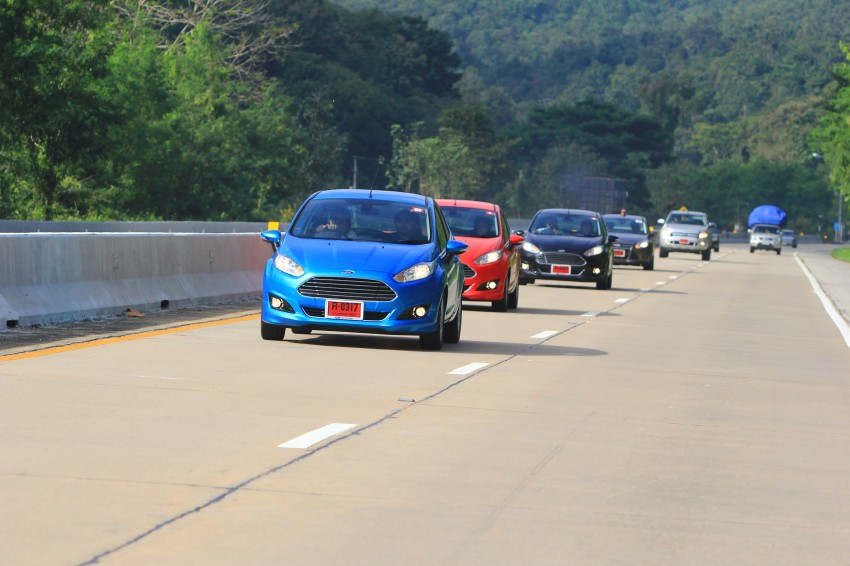 DRIVEN: 2014 Ford Fiesta 1.0 EcoBoost in Chiang Mai Image #216717