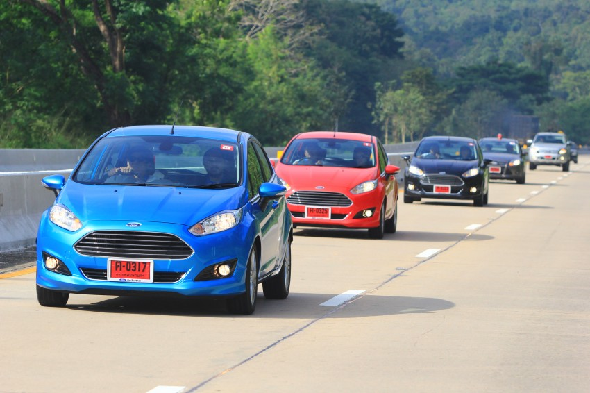 DRIVEN: 2014 Ford Fiesta 1.0 EcoBoost in Chiang Mai Image #216715