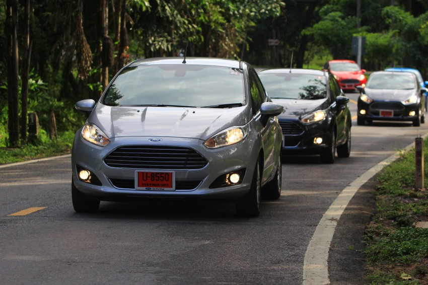 DRIVEN: 2014 Ford Fiesta 1.0 EcoBoost in Chiang Mai Image #216713