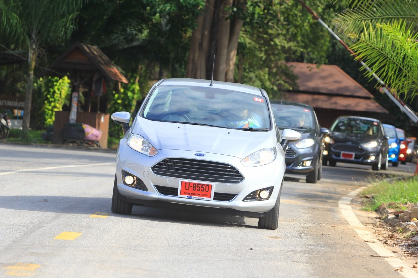 DRIVEN: 2014 Ford Fiesta 1.0 EcoBoost in Chiang Mai Image #216712