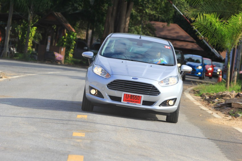 DRIVEN: 2014 Ford Fiesta 1.0 EcoBoost in Chiang Mai Image #216711