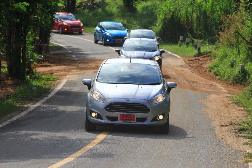DRIVEN: 2014 Ford Fiesta 1.0 EcoBoost in Chiang Mai Image #216710