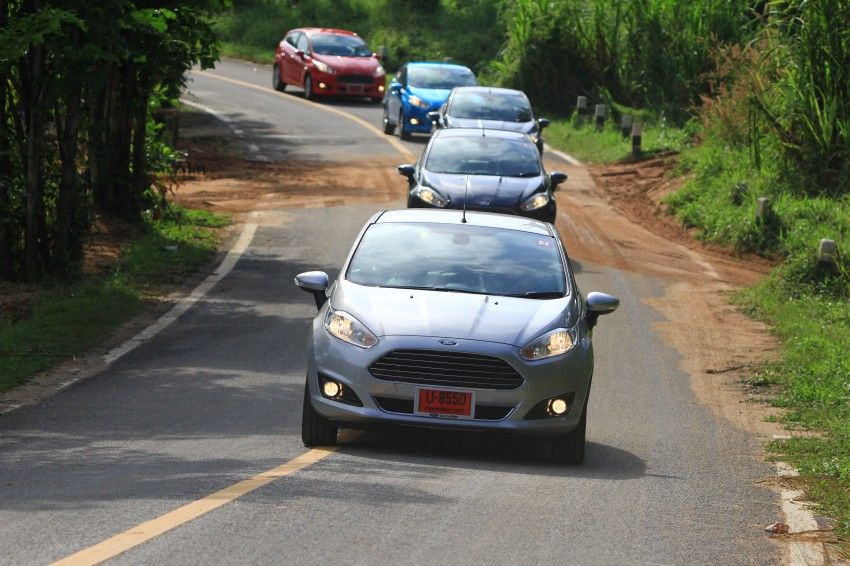DRIVEN: 2014 Ford Fiesta 1.0 EcoBoost in Chiang Mai Image #216709