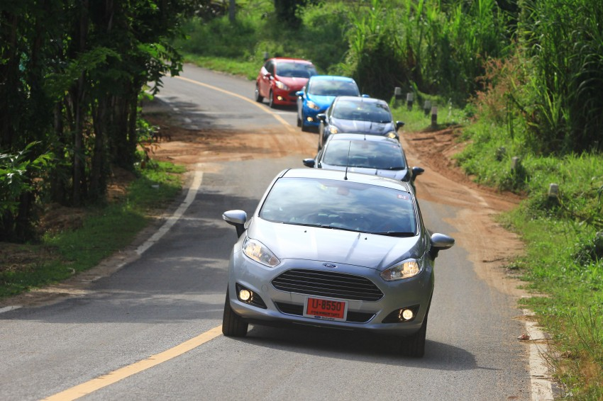 DRIVEN: 2014 Ford Fiesta 1.0 EcoBoost in Chiang Mai Image #216708