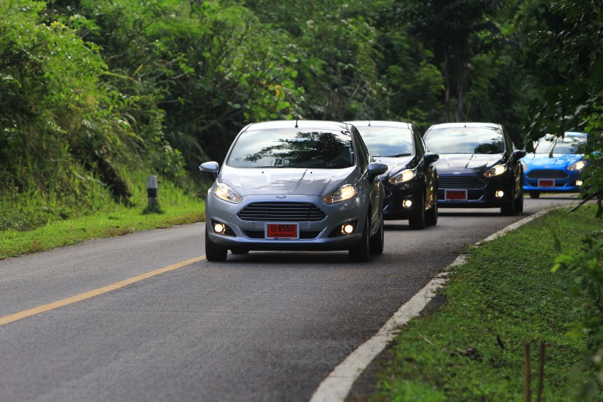 DRIVEN: 2014 Ford Fiesta 1.0 EcoBoost in Chiang Mai Image #216706