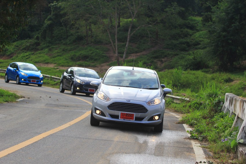DRIVEN: 2014 Ford Fiesta 1.0 EcoBoost in Chiang Mai Image #216705