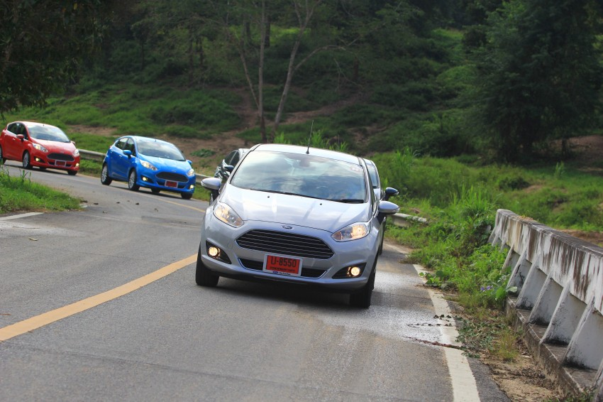 DRIVEN: 2014 Ford Fiesta 1.0 EcoBoost in Chiang Mai Image #216703