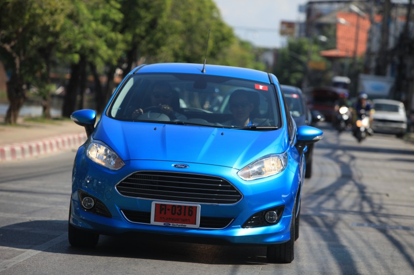 DRIVEN: 2014 Ford Fiesta 1.0 EcoBoost in Chiang Mai Image #216702