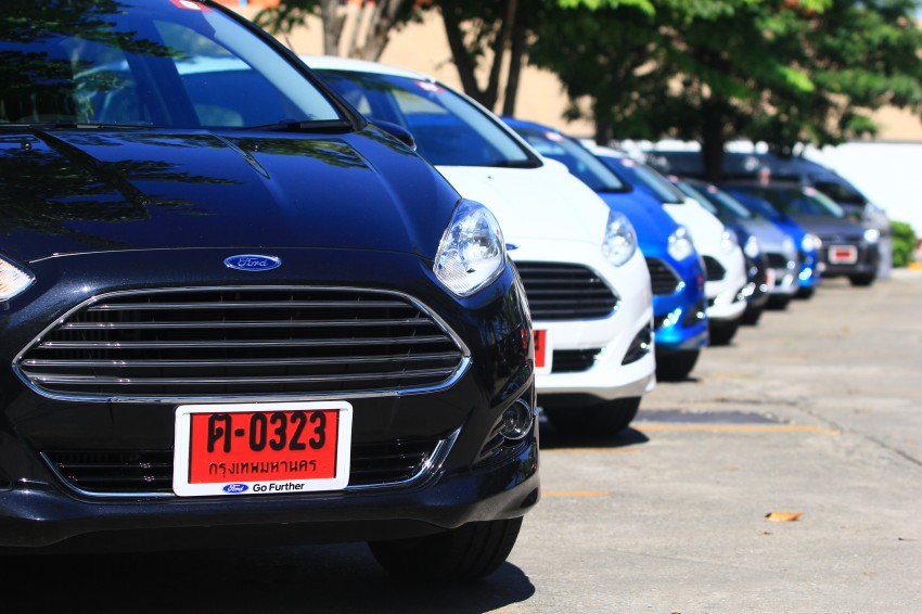DRIVEN: 2014 Ford Fiesta 1.0 EcoBoost in Chiang Mai Image #216701