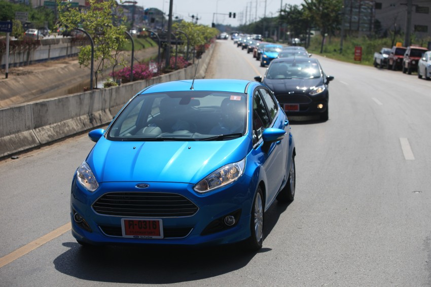 DRIVEN: 2014 Ford Fiesta 1.0 EcoBoost in Chiang Mai Image #216699