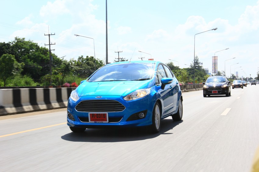 DRIVEN: 2014 Ford Fiesta 1.0 EcoBoost in Chiang Mai Image #216696