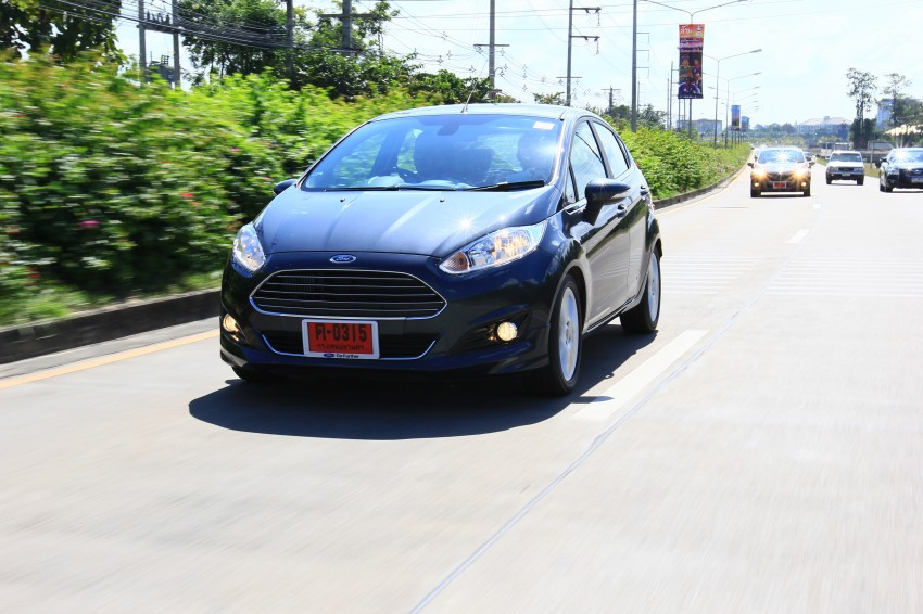 DRIVEN: 2014 Ford Fiesta 1.0 EcoBoost in Chiang Mai Image #216694