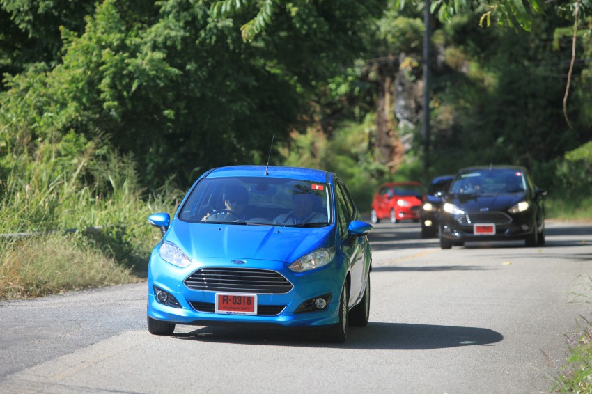 DRIVEN: 2014 Ford Fiesta 1.0 EcoBoost in Chiang Mai Image #216692
